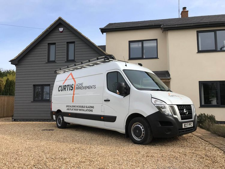 curtis home improvements van