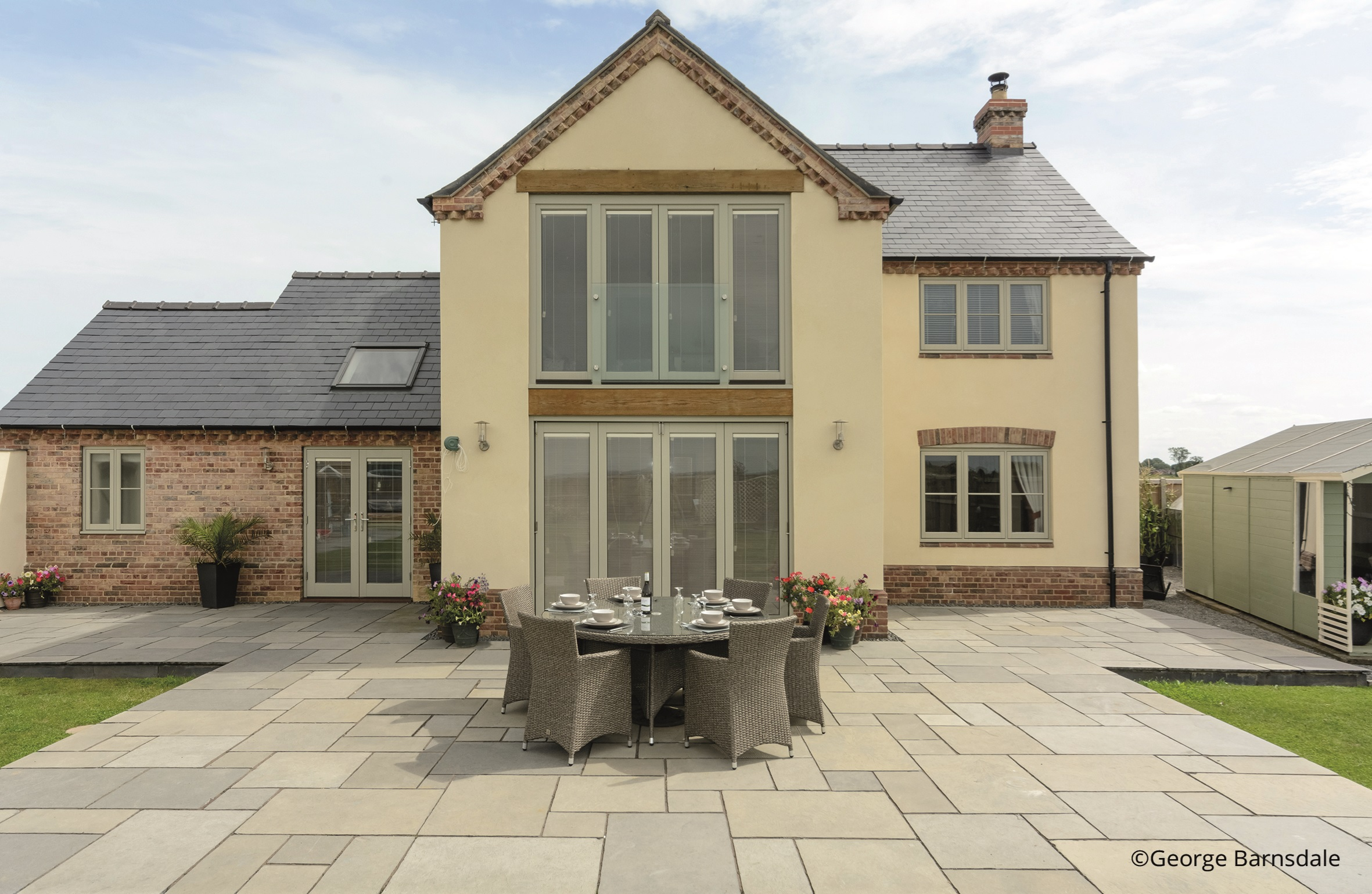 George Barnsdale traditional timber windows